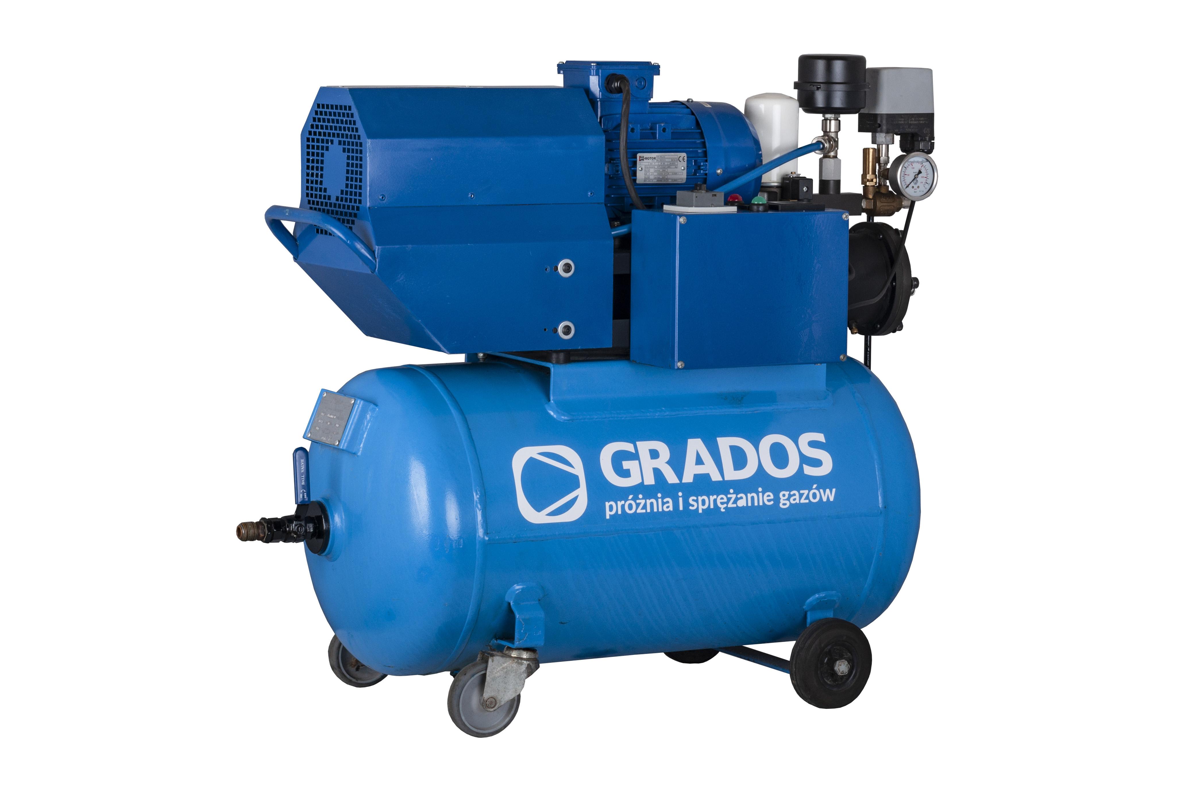 Nowość Przemysłowe kompresory do powietrza: Sprężarki do warsztatów QQ26