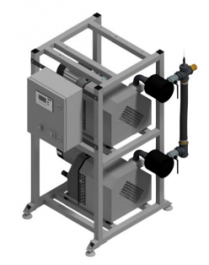 Bezolejowa pompa kłowa CPAP 2x155 2x315 Duplex DVP