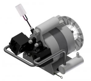 Pompa tłokowa ZA.15S DVP bezolejowa