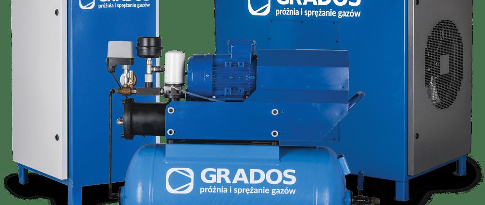 Sprężarki łopatkowe GRV - lepsze, niż śrubowe sprężarki