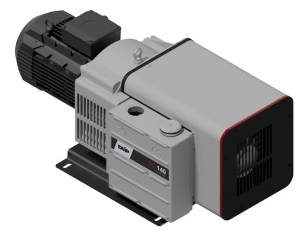 Bezolejowa łopatkowa pompa próżniowa CC 100-1 CC 140-1 DVP